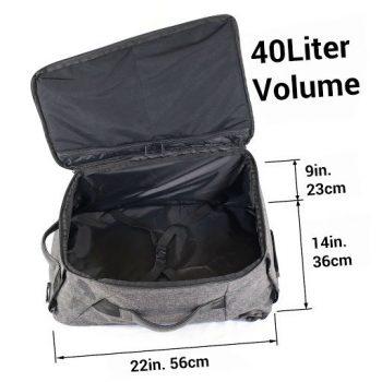 40 Liter Backpack Dimensions